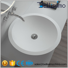 Hot sell Round basin, Art basin,made of stone resin Sink BS-8313