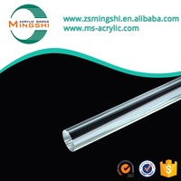 Led lighting high transparent color large acrylic stick