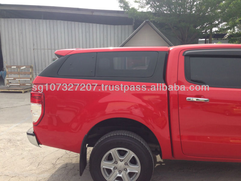 Aerodynamic Canopy for Ford Ranger T6 Truck