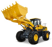 SINOMACH construction equipments engineering machinery 5 ton front wheel loader GZ57H