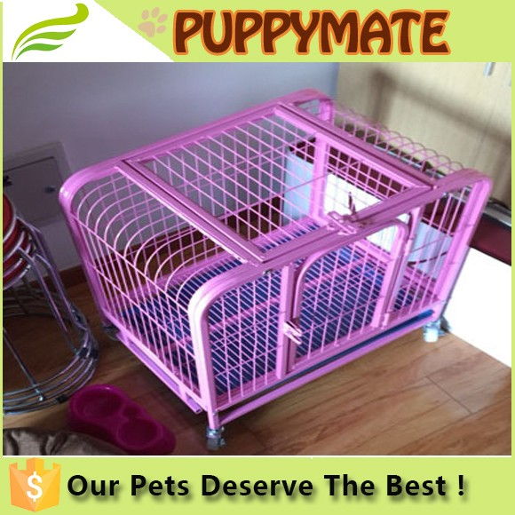 Hot sale popular removable Dog Crate, Dog Cage, Dog House dog pen with wheels
