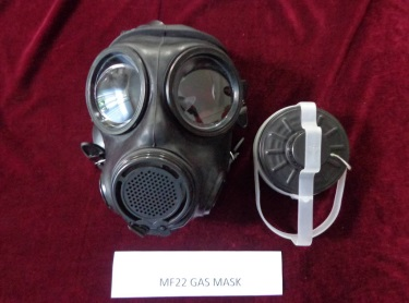 Final product (Gas mask)