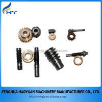 Custom gear,mini&small stainless steel/bronze/brass worm gear ISO9001 passed