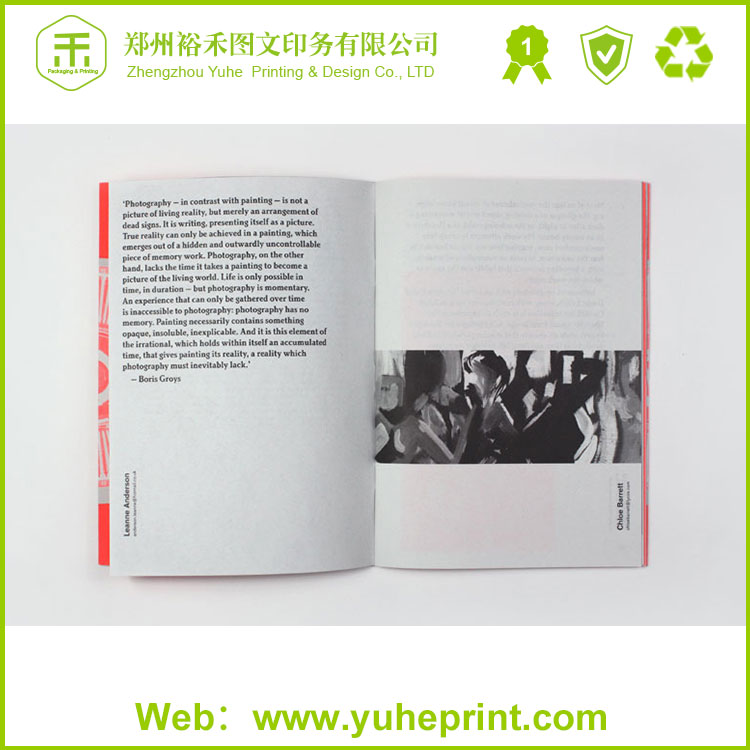 Customized style sample design hot sale offset print coated paper brochure wholesale catalog