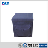 Foldable Ottoman Box for book organizers storage