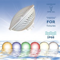36W/54W GX16D PAR56 LED Swimming Pool Lamp for Aqua Lighting