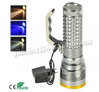 Hot Sale Outdoor Light Source Strong Light Rechargeable Zoom Fishing Light