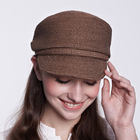 Men and women general Korean style sun hat straw hat peaked cap