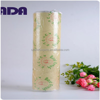 household blue clear pvc cling film food protection film