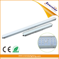 CE/EMC/RoHS certified 1200mm IP65 LED Tri-proof Light Fixture
