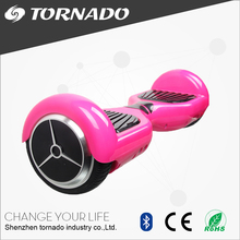 Going pink self balancing hoverboard