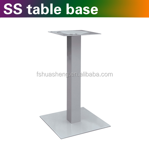 acrylic dining table base supplier