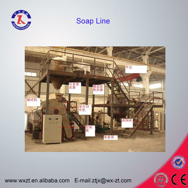 saponification production line(CE certified saponification plant)