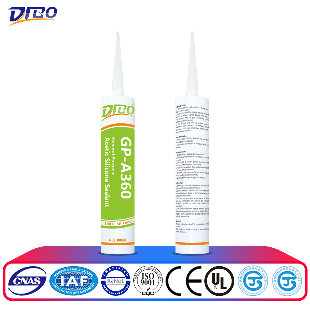 high quality 310ml cartridge silicone sealant