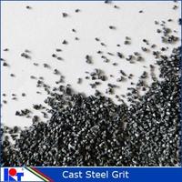 grit blasting abrasive of cast steel grit