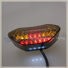 CH-2006-6 Chenghao E-mark scooter led tail light with brake run turn license function rear light for electric vehicles