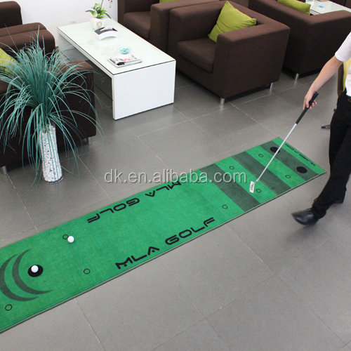 Indoor golf put mat