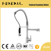 Yuhuan sanitary ware Italian brass kitchen faucet from Chinese Factory