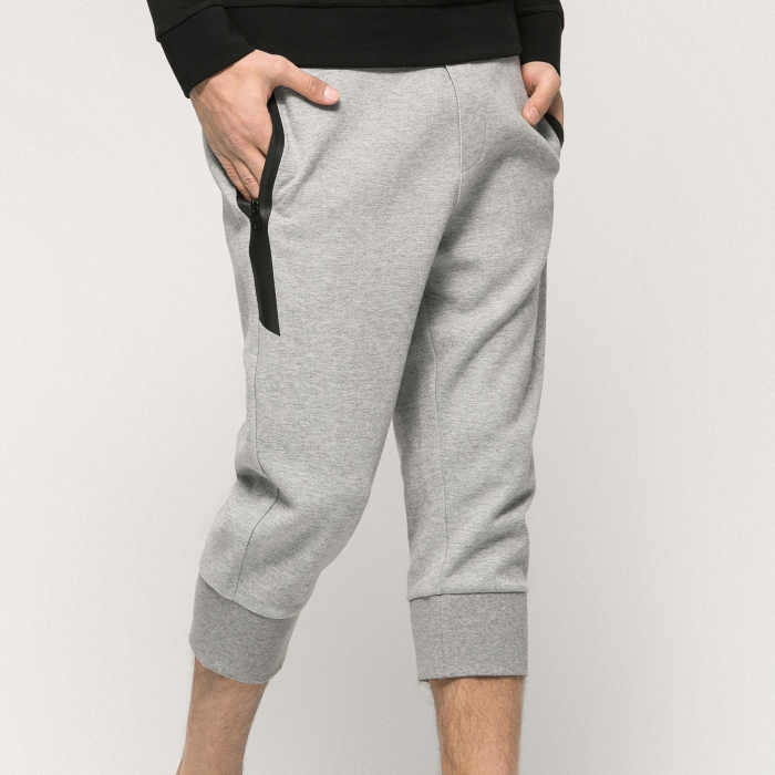 Stylish wholesale plain grey harem pants for men