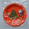 China Wholesale High Quality Disposable Christmas Paper Plates