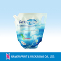 high-capacity liquid spout pouch for laundry detergent doy bag