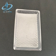 Good Quality plastic packing tray medical disposable large PET clear trays