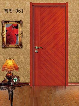 Solid Wood Door Veneer Wooden Flush Door Design Wood