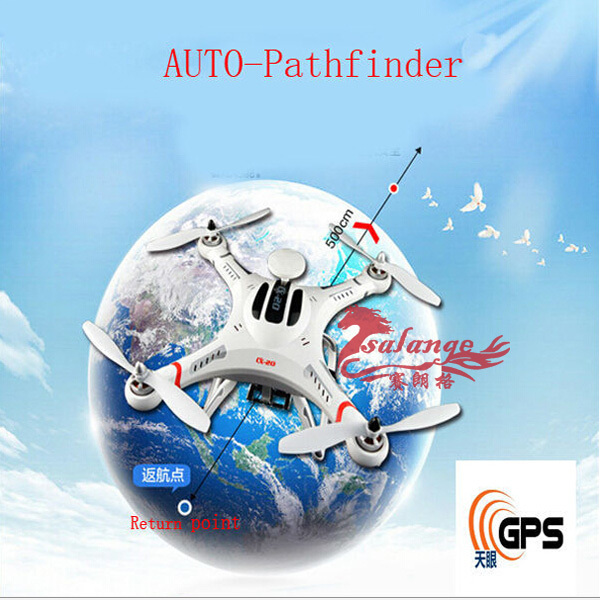 New 2015 Airwolf CX20 Support AUTO-Pathfinder GPS Control One Key Go Home can Carry Gopro Smart Drone By Salange