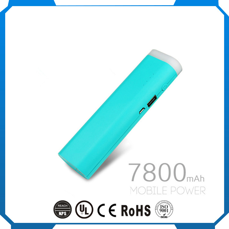 Shenzhen New Type 7800mAh Mobile USB Charger Power Bank for All Phones