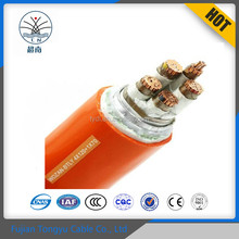 Industrial use XLPE cable WDZAN CU/XLPE/PVC 3x2.5mm2 LSOH Sheathed Flame retardant Power Cable