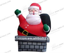 2013 OXford cloth material Santa Claus on Chimney
