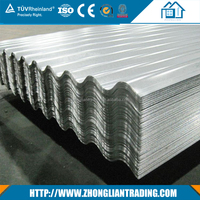 Cheap price customized 0.7 mm thick aluminum zinc corrugated roofing sheet