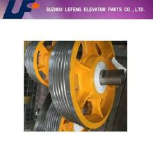 Elevator Deflector Sheave,Lift Traction Sheave For Spare Parts