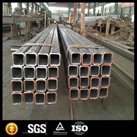 ms black square rectanglular steel pipe tube weight