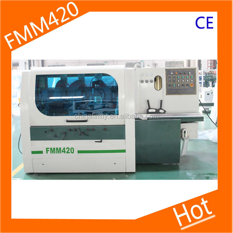 four side moulder & wooden cabinet door floor making machine CE