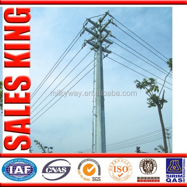 Cheapest Tapered electricity pole 35 ft for Philippines