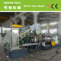 Waste Plastic Granules Making Machine With CE