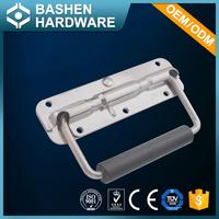 2017 304 Stainless Steel & PVC folding door handle for aluminum case