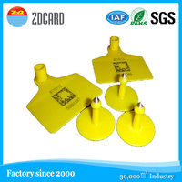 RFID Rabbit Ear tag ISO11784/11785 Compliant