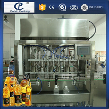 China manufacturer CE approved automatic bottling sunflower oil filling capping line new technology no foam high precision