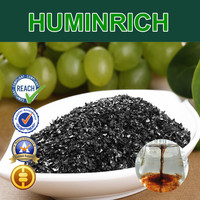 Huminrich Foliar Applied Without Phytotoxicity Fertilization Super Potassium F Humate Shiny Flakes Manure