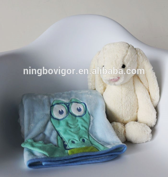 New Design Blanket, Mr. Crocodile Animal Shaped Blanket, Bed Blanket