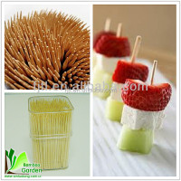 Factory direct high quanlity bamboo dental floss toothpick for sale