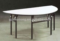 2011 Hot Sale Folding Semi-circle Table
