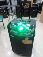 10'' subwoofer active trolley speaker and Rechargeable speaker box