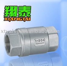 Stainless Steel Vertical Lift Check Valve Female Thread Ends