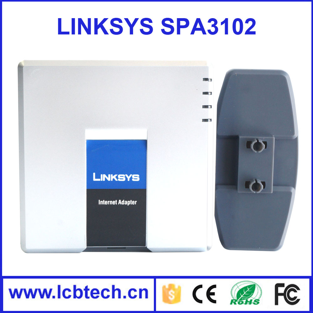 Brand New Unlocked Linksys SPA3102 Voip Phone Adapter