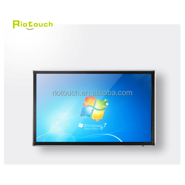 "China cheap 84"" 4K high resolution school teach large multi infrared 52 inch lcd touch screen monitor"
