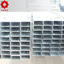 40*80mm pre-galvanized hollow section rectangular pipe GI pipe tube