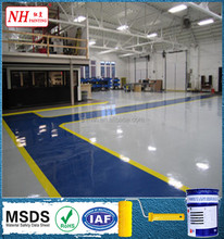 resistance to flaking epoxy resin self leveling floor paint